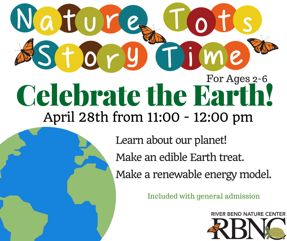 Nature Tots Story Time - River Bend Nature Center